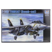 Trumpeter 1/32 F-14B Tomcat (Bomb-cat) Bomber Jet Scaled Plastic Model Kit