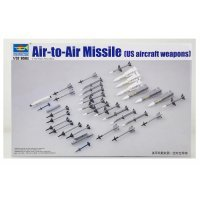 Trumpeter 1/32 US Aircraft Air to Air Missile Set Scaled Plastic Model Kit