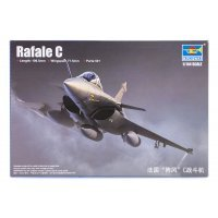 Trumpeter 1/144 Rafale C Fighter Jet Scaled Plastic Model Kit