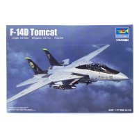 Trumpeter 1/144 F-14D Tomcat Fighter Jet Scaled Plastic Model Kit