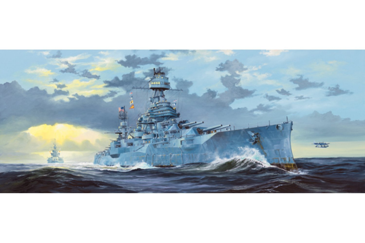 05340 | Trumpeter 1/350 USS Texas BB-35 Battleship Plastic Model Kit