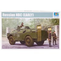 Trumpeter 1/35 Russian NBC (Early Version) Armoured Car Scaled Plastic Model Kit