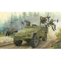 Trumpeter 1/35 Russian BTR-40 Armoured Personnel Carrie Scaled Plastic Model Kit