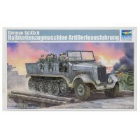 Trumpeter 1/35 German Sd.Kfz.6 Ausfuhrung Artillery Half-track Scaled Plastic Model Kit