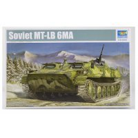 Trumpeter 1/35 Soviet MT-LB 6MA Armoured Personnel Carrier Scaled Plastic Model Kit