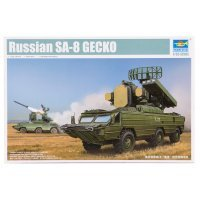 Trumpeter 1/35 Russian SA-8 GECKO SAM Vehicle Scaled Plastic Model Kit