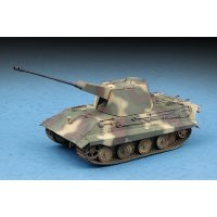 Trumpeter 1/72 German E-75 Flakpanzer Tank Scaled Plastic Model Kit