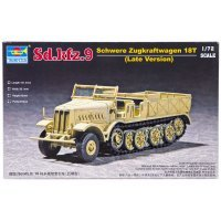 Trumpeter 1/72 German Sd.Kfz.9 18 Ton Half-track Scaled Plastic Model Kit