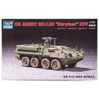 Trumpeter 1/72 U.S. Army M1126 Stryker ICV Armoured Personnel Carrier Scaled Plastic Model Kit