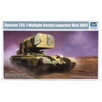 Trumpeter 1/35 Russian 1989 TOS-1 Multiple Rocket Launcher Scaled Plastic Model Kit