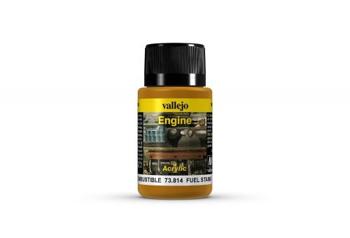 Vallejo Engine Fuel Stains Weathering Effects Paint 40ml