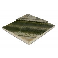 Vallejo 1/35 Scenics 140x140mm Ped Street Section Diorama Base