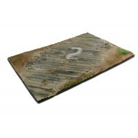 Vallejo 1/35 Scenics 310x210mm Wooden Airfield Surface Diorama Base