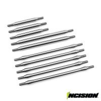 "Vanquish 1/4"" Stainless Steel TRX-4 312mm Wheelbase Linkage Upgrade Set"