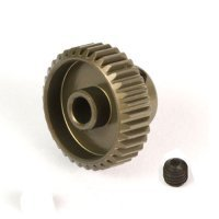 Yeah Racing Aluminium 7075 Hard Coated 37T 64dp Pinion Gear