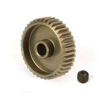 Yeah Racing Aluminium 7075 Hard Coated 39T 64dp Pinion Gear