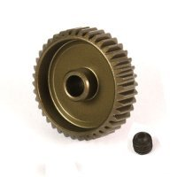 Yeah Racing Aluminium 7075 Hard Coated 40T 64dp Pinion Gear