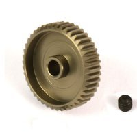 Yeah Racing Aluminium 7075 Hard Coated 43T 64dp Pinion Gear