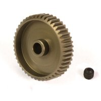 Yeah Racing Aluminium 7075 Hard Coated 46T 64dp Pinion Gear