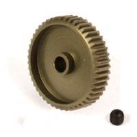 Yeah Racing Aluminium 7075 Hard Coated 48T 64dp Pinion Gear