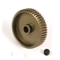 Yeah Racing Aluminium 7075 Hard Coated 49T 64dp Pinion Gear