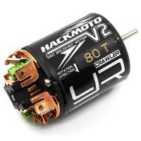 Yeah Racing Hackmoto V2 540 Size 80 Turn Brushed Motor