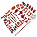 Yeah Racing Red Aluminium Tamiya TT-01 & TT-01E Rapid Performance Conversion Kit