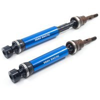 Yeah Racing Blue Steel HD Rear Universal Drive Shafts Slash/Stampede 4x4 Heavy Duty