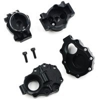 Yeah Racing Black Aluminium TRX-4 Rear Portal Drive Hub & Housing