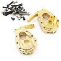 Yeah Racing TRX-4 High Mass Brass Front Portal Axle Steering Hub 2Pcs