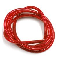 Yeah Racing 12AWG Transparent Red Wire 1000mm