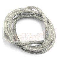 Yeah Racing 12AWG Transparent Silver Wire 1000mm