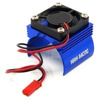 Yeah Racing Blue Aluminium 540 Size Motor Heat Sink w/ Cooling Fan
