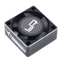 Yeah Racing Black Aluminium Case Tornado Plus 25x25x10mm High Speed Cooling Fan