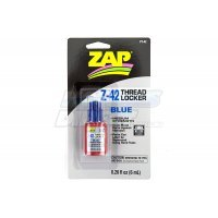 Zap Blue Medium Strength Thread Lock 6ml