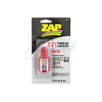 Zap Red Permanent Strength Thread Lock 6ml