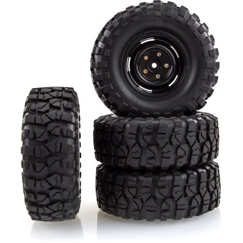 Scaled Rims with Soft Tyres
