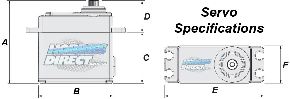 RC Hobby Servo Specifications